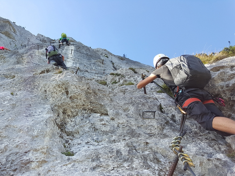 Pidinger Klettersteig : Pidinger klettersteig