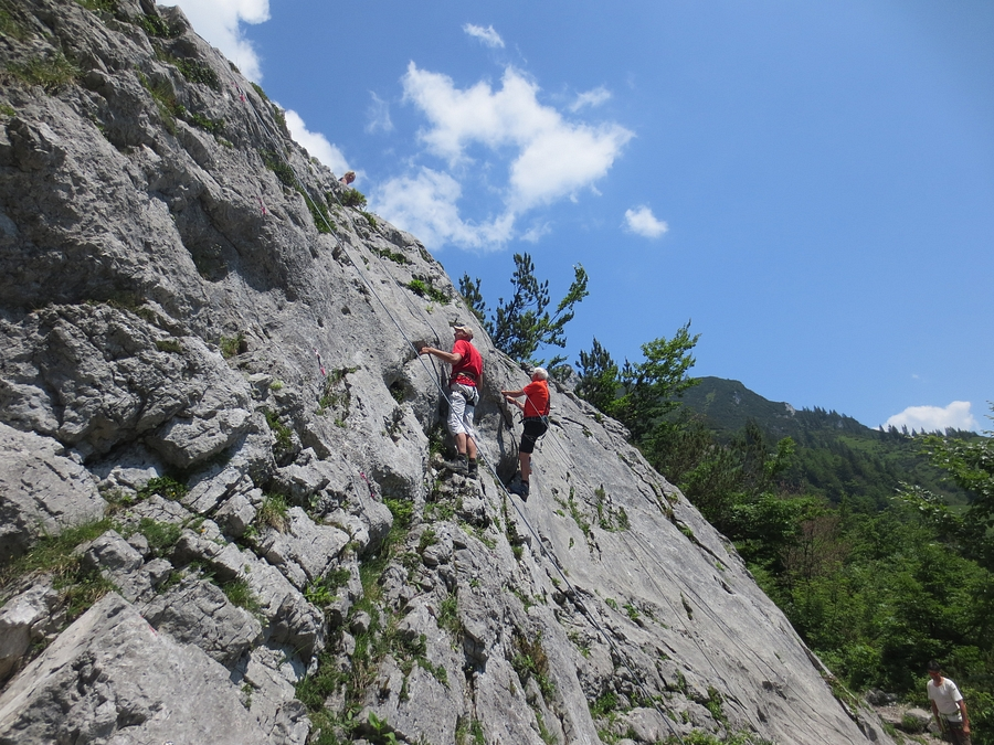 Klettersteig Klamml : Klamml klettersteig